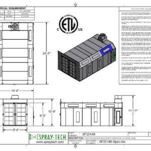 5SF23149I Spec Sheet 300x300
