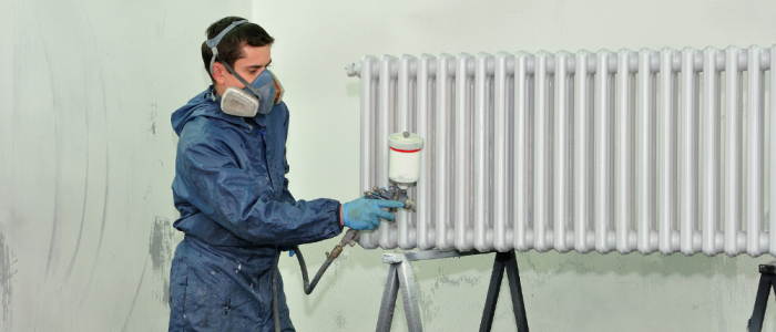 Heat systems for Industrial Booths & Enclosures